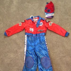 Other - Toddler race car driver costume size 2-3
